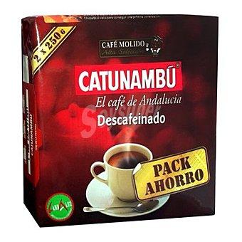 Catunambu Café molido natural descafeinado 2 x 250 g