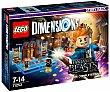 Pack de historia Animales Fantásticos y donde encntrarlos con 2 figuras y escenario interactivo lego Dimensions  LEGO