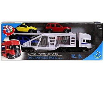 Rik&Rok Auchan Camión de Transporte de Coches 1 Unidad