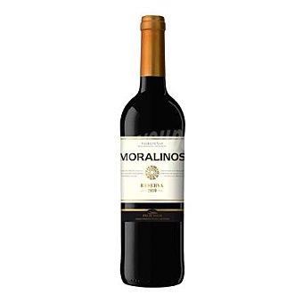 Moralinos Vino D.O. Valdepeñas tinto reserva Botella de 75 cl