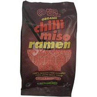 King Soba Ramen arroz integral con miso-chili Bolsa 80 g