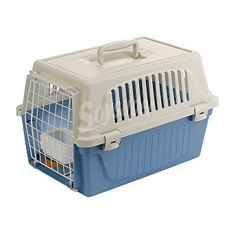 Ferplast Transportín + accesorios Ferplast para perros y gatos Atlas 10 Azul claro