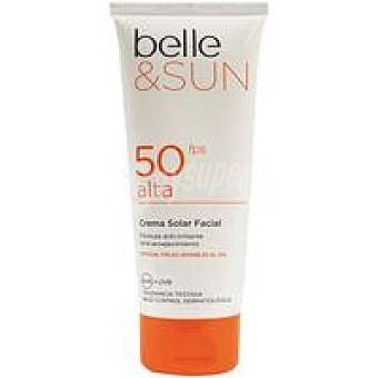 Belle Crema facial solar sensitive F50 &sun Tubo 100 ml