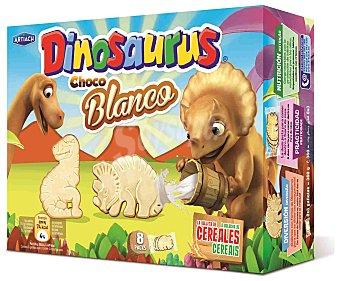 Dinosaurus Artiach Dinosaurus de chocolate blanco Caja 360 g