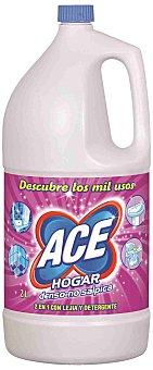 Ace Lejía con detergente hogar Botella 2 l