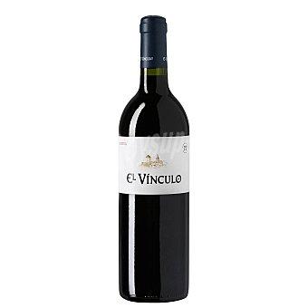 El Vinculo Vino tinto reserva con denominación de origen La Mancha Botella de 75 cl