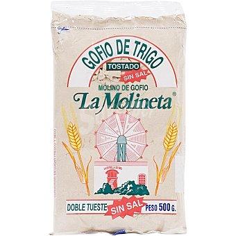 La molineta Gofio de trigo tostado sin sal bolsa 500 g Bolsa 500 g