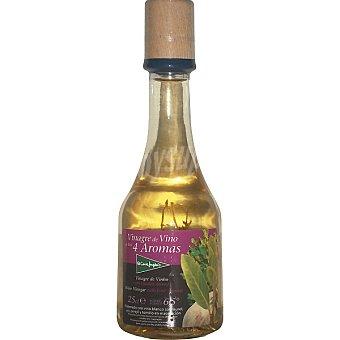 El Corte Inglés Vinagre de vino a los 4 aromas botella 250 ml 250 ml