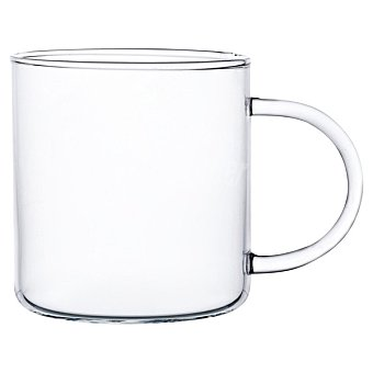 Tecnhogar Taza de cristal con asa  30 cl
