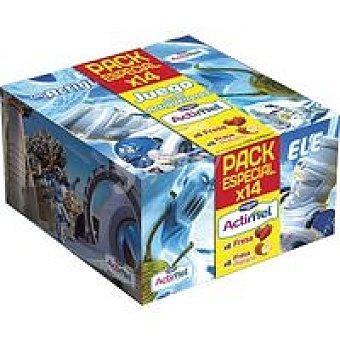 Actimel Danone Hangar Pack 14x100gr