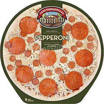 Casa Tarradellas Pizza Pepperoni 410 Gramos