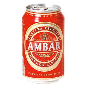 Ambar Cerveza especial Lata 33 cl