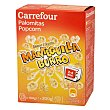 Palomitas sabor mantequilla para microondas Pack de 3 bolsas de 100 g Carrefour