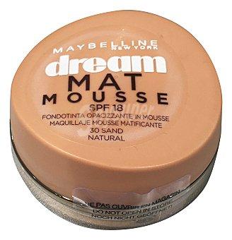 Maybelline Base de maquillaje Dream Mat Mousse 30 Natural 1 ud