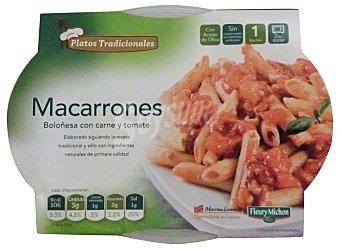 Martinez Loriente Comida preparada macarrones boloñesa Bandeja 325 g
