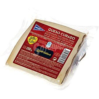 Hipercor Queso castellano curado elaborado con leche cruda cuña 250 g