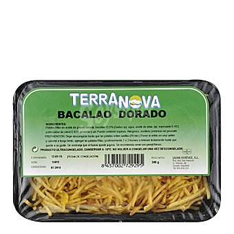 Terranova Bacalao dorado Bandeja de 240 g