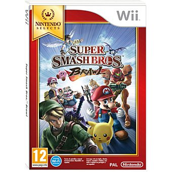 WII Wii videjuego Super Smash Bros Brawl Selects para