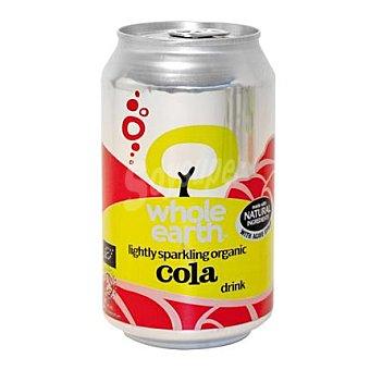 WHOLE EARTH Refresco de cola Bio sin azúcar 33 cl