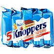 Wafers con chocolate y avellanas 5 unidades Pack 5 x 25 g Knoppers