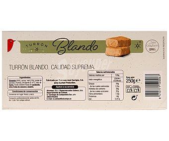 Auchan Turrón blando 250 gramos