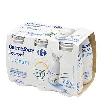 Carrefour Discount L. Casei natural Pack de 6x100 g