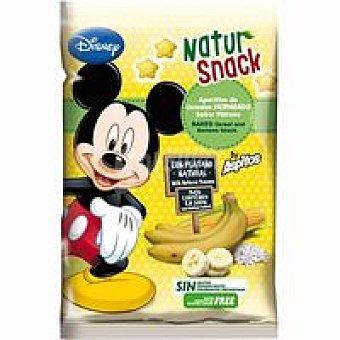 Natur snack Aperitivo de cereales sabor plátano bolsa 25 g