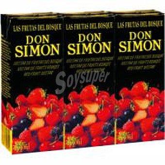 Don Simón Néctar de frutas del bosque Pack 3x20 cl