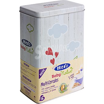 HERO BABY Natur Papilla multicereales paquete 1200 g Paquete 1200 g
