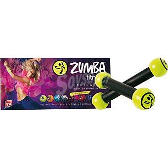 Pack Zumba fitness con mancuernas Zumba