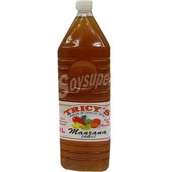 TRICY'S Zumo de manzana sin azúcar botella 2 l 2 l
