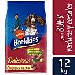 Delicius adult pienso completo para perros adultos con buey, pollo, cereales y verduras Bolsa 12 kg Brekkies Affinity
