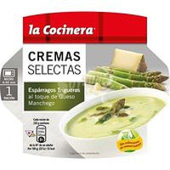 LA COCINERA C. Selectas Crema de espárragos trig. Tarrina 230 g