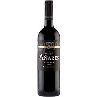 Bodegas Olarra Vino Tinto Añares Reserva Rioja Botella 75 cl