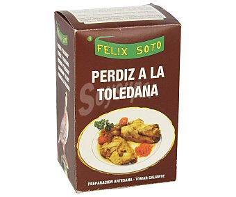 Felix Soto Perdiz a la toledana 400 gramos