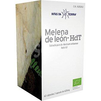 HIFAS DA TERRA Melena de león Hdt extracto puro envase 62 cápsulas Envase 62 c