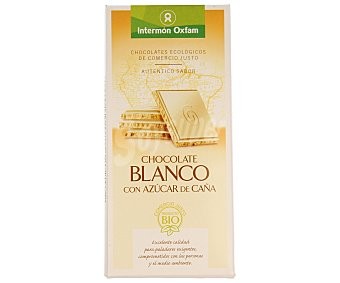Intermón Oxfam Chocolate blanco Tableta 100 g