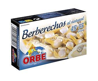 Orbe Berberechos pequeños al natural Lata de 63 g