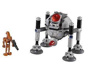 LEGO Juego de construcciones Star Wars Microfighters, Homing Spider Droid, 102 piezas, modelo 75077 1 unidad