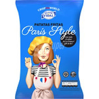 Vidal Patatas fritas sabor crema de setas París Style envase 120 g