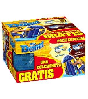 Danone Danet Natillas 4 vainilla + 4 chocolate + colchoneta Pack de 8x125 g