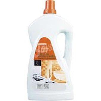 Eroski Limpiador cocina-baño con lejía Botella 1,5 litros