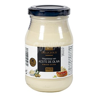 DIA DELICIOUS Mayonesa con aceite de oliva virgen extra Frasco 225 ml