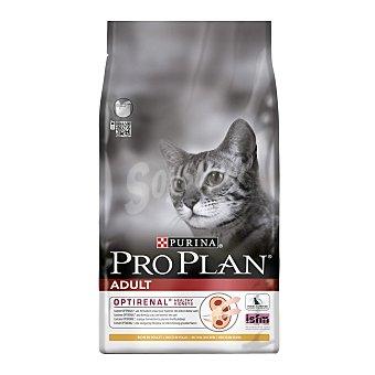 Purina Pro Plan Pienso para gatos adultos Opti Renal pollo y arroz Bolsa 1.5 Kgkg