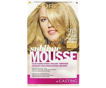 Sublime L'Oréal Paris Tinte rubio claro N. 913 Caja 1 unid