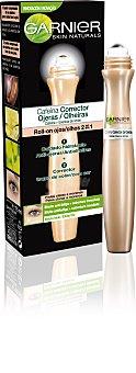 Skin Naturals Garnier Roll on ojos piel clara corrector 15 cc
