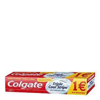 Colgate Dentífrico protección anticaries Triple Cool Stripe 75 ml