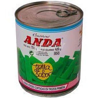 El Niño Judía verde redonda Lata 1 kg