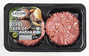 ElPozo Burger de cerdo ibérico Bandeja 320 g
