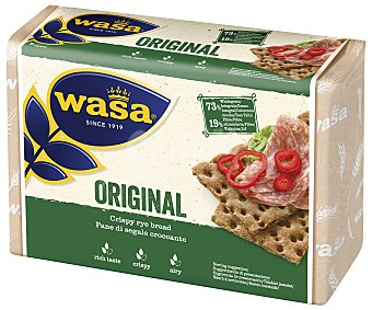 Wasa Biscotes de pan integral original Paquete 275 g